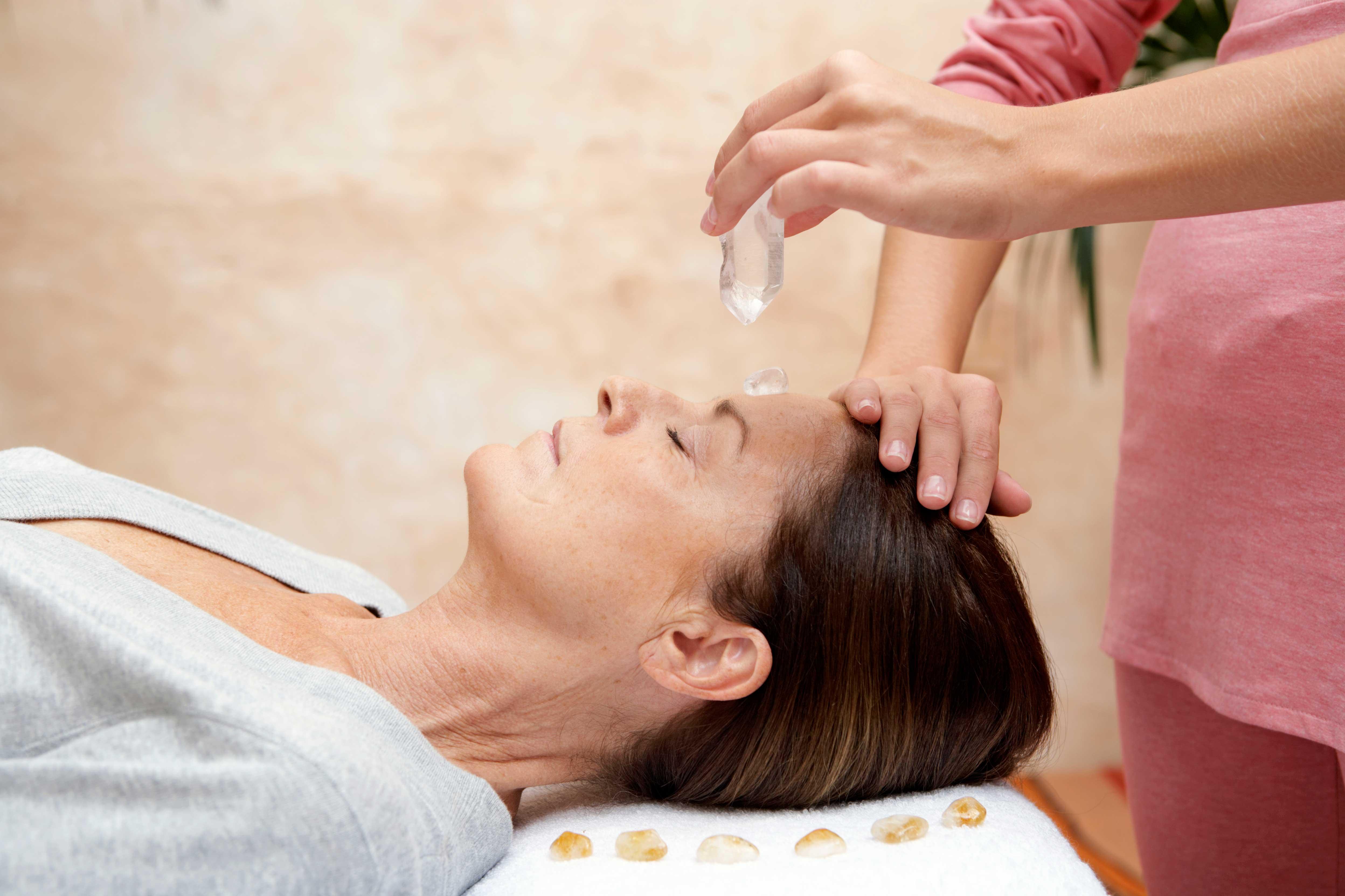 Crystal-Healing at Med Massage Wellness Clinic
